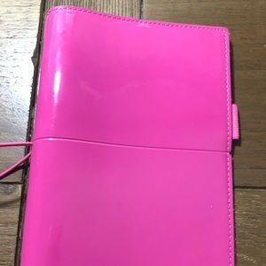 Pink Filofax Planner